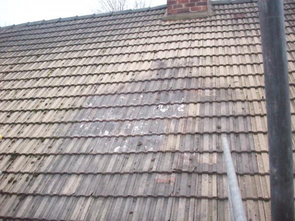 Chimney removed
